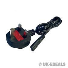 Laptop F8 Figura 8 Cable De Red Para Laptop Cargador Monitor De Tv Dvd Ps2 Ps3 Reino Unido