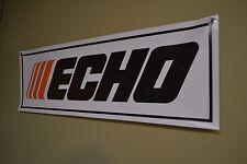 Echo Chainsaw Edgers Blower Engine Banner Sign Mower Repair Shop Advertising