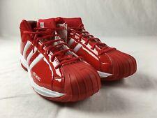 adidas Pro Model 2G Basketball Shoes Men's Red/White New Multiple Sizes