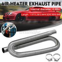 60cm Exhaust Pipe Stainless Steel Car Parking Air Heater Tank Diesel Gas Vent