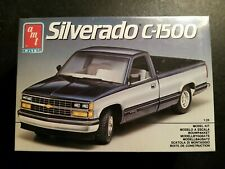 Amt / Ertl Chevy Silverado C-1500 Truck Model Kit 1/25 *New and Factory Sealed*