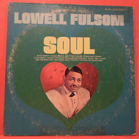 LOWELL FULSOM SOUL LP 1965 RE '70 UNITED PRESS FULSON GREAT CONDITION! VG+/VG!!