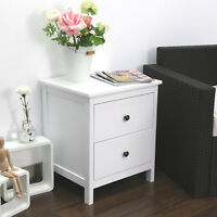 Nightstand Bedroom Bedside Table Storage Furniture Night Stand Cabinet,w/Drawers