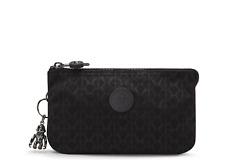 Kipling Purse Pouch Creativity L Cosmetic Bag SIGNATURE EMB Print FW21 RRP £33