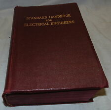 Standard Handbook For Electrical Engineers, Book, 1941, 7th ed.,  Knowlton, (T)