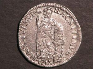 NETHERLANDS-GELDERLAND 1713 1 Gulden Silver VF-XF