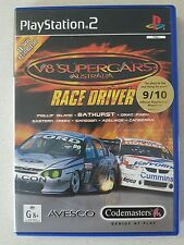 PS2 GAME - V8 SUPERCARS AUSTRALIA RACE DRIVER - PLAYSTATION 2