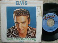 Elvis Presley - Santa Claus Is Back In Town / I Believe - U.K 45 + PS