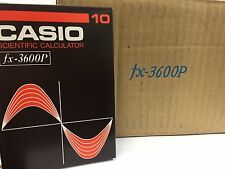 CASIO PROGRAMMABLE SCIENTIFIC CALCULATOR FX-3600P 1981 BRAND NEW JAPAN RARE