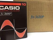 CASIO PROGRAMMABLE SCIENTIFIC CALCULATOR FX-3600P 1981 BRAND NEW JAPAN RARE