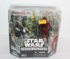 Star Wars Droid Factory Han Solo R-3P0 Action Figures 3 Of 6 2008 New