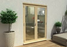PATIO FRENCH DOORS - 5ft 1500mm 54mm - 1.4 U-VALUE - SUPPLIED UNFINISHED