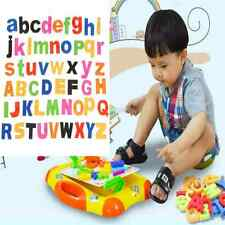 Fun 52 MAGNETIC Lower/Upper Case ALPHABET LETTERS Childrens Kids LEARNING TOY