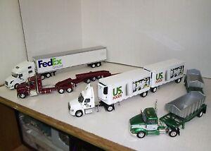 1/53 Set #15 - Includes 4 Die Cast Tonkin Replica Trucks - Details in Listing
