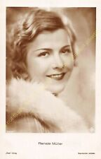 RPPC STAR RENATE MÜLLER Photo Edit ROSS 5323/1