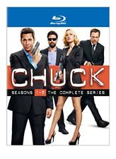 Chuck Seasons 1-5 Complete Series 0883929286287 With Adam Baldwin Blu-ray