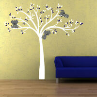 Cartoon Koala Bear Tree Vinyl Wall Sticker Decal Kids Baby Bedroom Nursery Decor