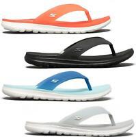 Skechers NEXTWAVE ULTRA Ladies Womens Summer Beach Thong Sandals Flip Flops