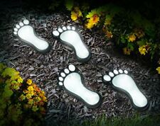 Outdoor Solar Foot Print Light Set of 4.Decorative Lighting To Pathways