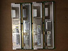 Lot of 4 1GBx4 Samsung Hynix Assorted Brands  2Rx8 PC2-5300f-555-11-B0 Server