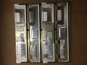 Lot of 4 1GB x 4 2Rx8 PC2-5300f-555-11-B0 PowerEdge 2900 Server