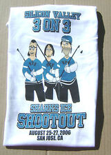 San Jose Sharks NHL Shirt  - Silicon Valley 3 on 3 Ice Shootout 8-25-2006 SMALL