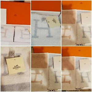 Auth.Hermes Square Wash Cloth- Made in France