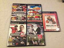 Playstation 2 Sports Games Lot Japan Import