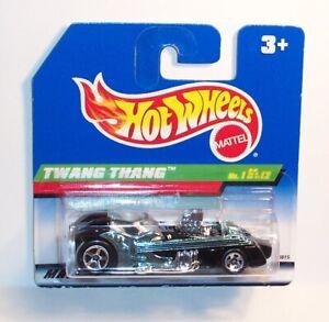 HOT WHEELS Short Card SC 1998 TH Treasure Hunt #1 TWANG THANG - MOC