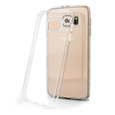 Samsung Galaxy S6 Case Cover Protective Transparent Crystal Clear Soft TPU Gel
