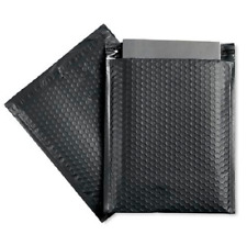 50 2 85x12 Black Poly Bubble Padded Envelopes Mailers Shipping Case 85x12