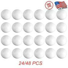 New listing 24/48x Table Tennis Ping Pong Ball Plain Indoor Sporting 40Mm Plastic Balls USA
