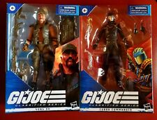 Gi Joe Classified Cobra Commander #06 Gung Ho #07 Bundle New! Lot of 2