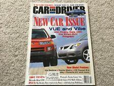 2002 Dodge Ram 1500, Toyota Camry, Audi A4 Car and Driver Magazine