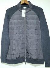 Peter Millar Crown Elite Wool Puffer Goose Down Jacket Mens Medium NWT $295.00