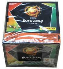 PANINI - EM UEFA EURO 2004 PORTUGAL - SEALED BOX/BOITE NEUVE 50 PACKETS