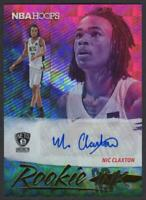 2019-20 Hoops Rookie Ink Nicolas Claxton RC Autograph Auto Brooklyn Nets