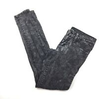 Flying Monkey Womens Juniors Size 3 Skinny Jegging Pants Acid Black Wash Stretch