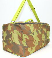 Diesel  'ONLY THE BRAVE WILD' Camouflage Mens Holdall / Duffle / Gym Bag