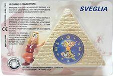 Sorpresa Kinder Ferrero Piramide Sveglia Orologio Lunes e la Sfera di Lasifer