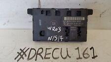 MERCEDES CLASSE C W203 ESTERNA PORTA ANTERIORE Modulo Di Controllo ECU 2038201585
