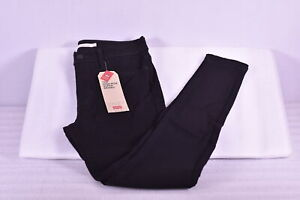 Women's Levi's 720 High Rise Super Skinny Jeans Black, 6 Medium