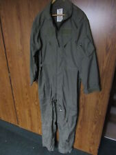 US ARMY Summer weight Coveralls Flyers Size 46 long 46L fire resistant