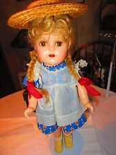 "14 "" Composition Madame Alexander  Mc Guffey   doll all original"