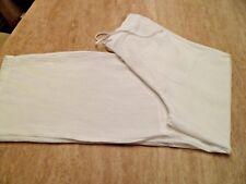 NEW SULU Kerstin Bernecker Linen Crinkle Trousers UK 10 EU 38