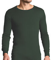 Forestman - Mens Long Sleeve Winter Warm Cotton Thermal Underwear Vest Top Shirt