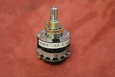 Grayhill 44D30-01-1-AJN Rotary Switch 1 Pole 12 possitions 115V New