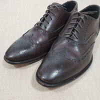 Mens TO BOOT NEW YORK / ADAM DERRICK Brown Wingtip Oxfords 10.5 D
