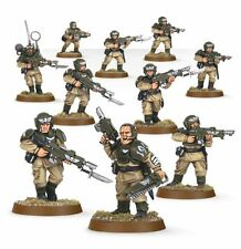 Warhammer 40k Imperial Guard / Astra Militarum Cadian Shock Troops X5