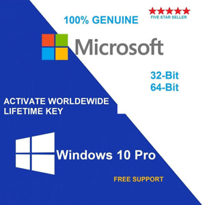 Windows 10 Pro Professional Genuine License Key Fast delivery